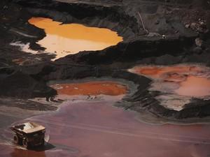 Vista geral da mina Ferro Carajás, em Parauapebas, operada pela Vale (Foto: REUTERS/Lunae Parracho )