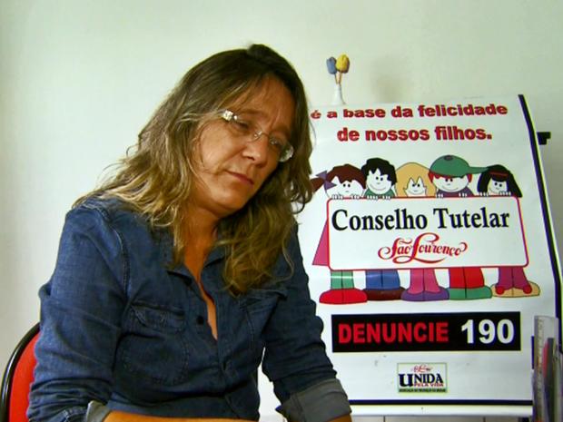 Conselheira tutelar, Sandra Silva Nascimento (Foto: Reprodução EPTV)
