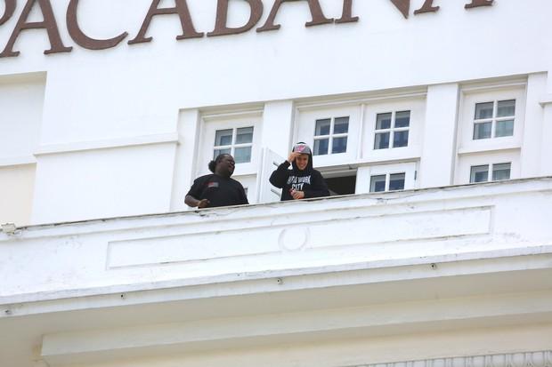 Justin Bieber no Rio (Foto: Marcello Sá Barretto e Gabriel Reis/Agnews)