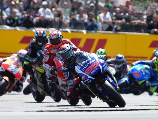 Jorge Lorenzo le Mans 3 Mundomoto
