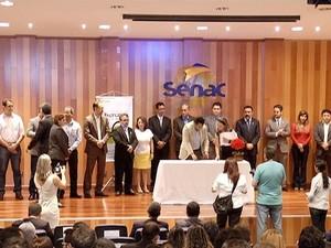 Observatório Social de Palmas foi criado nesta quinta-feira (16) (Foto: Reprodução/TV Anhanguera)