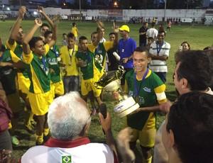Santos Reis é campeã da Copa Nossa Cidade Sub-15, em Natal (Foto: Alan Oliveira/10 Sports)