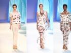 O fundo do mar inspira a grife Nica Kessler em desfile no Fashion Rio