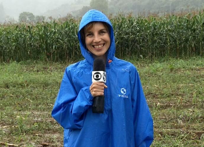 Teresa Freitas gravou imagens para o 'Revista' (Foto: Rio Sul Revista)