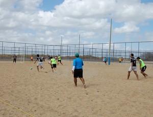 Arena de Macau para futebol de areia - beach soccer (Foto: Pedro Lima/Divulgação)