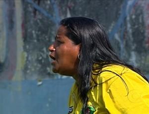 Maristela Gomes é treinadora do Tigres (Foto: TV Globo)