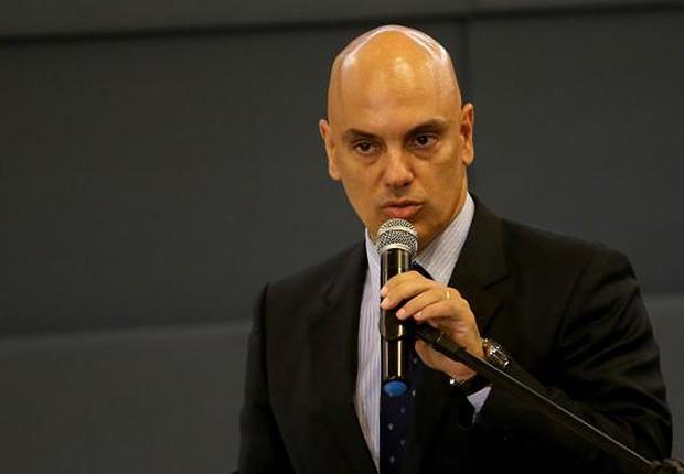 Alexandre Moraes, ministro do Supremo Tribunal Federal (STF) (Foto: Wilson Dias/Agência Brasil)