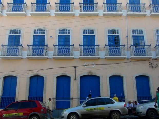 Biblioteca Pública de Alagoas deve ser inaugurada em novembro (Foto: Michelle Farias/G1)