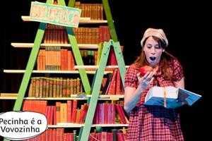 Pecinha é a vovozinha: a literatura (Foto: Divulgação)