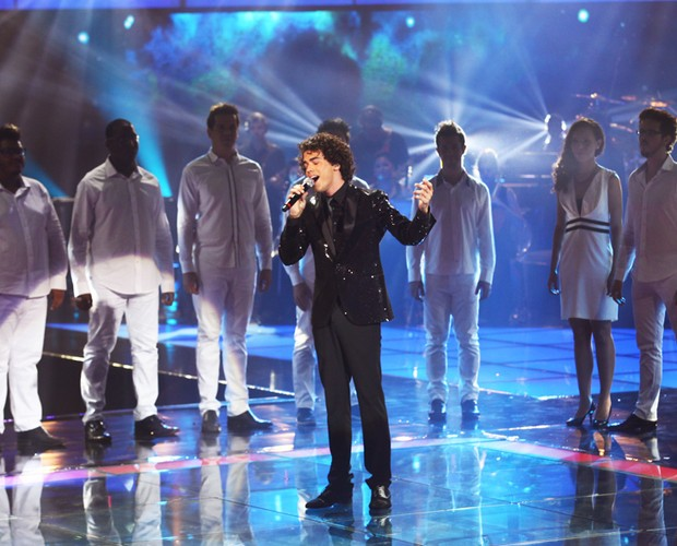 Sam Alves Final (Foto: The Voice Brasil/TV Globo)