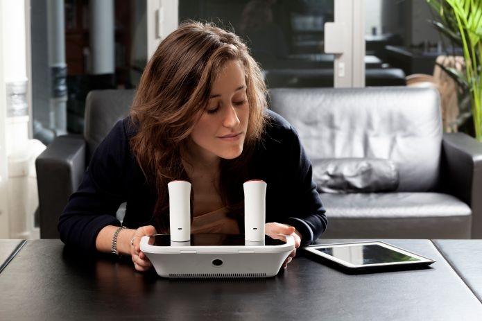 oPhone funciona em conjunto com um aplicativo mobile (Foto: Divulgação) (Foto: oPhone funciona em conjunto com um aplicativo mobile (Foto: Divulgação))