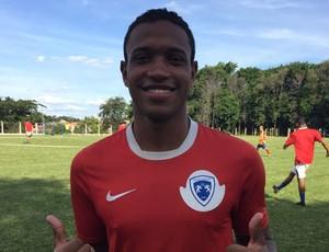 Juninho, volante, Osvaldo Cruz (Foto: Mariane Santos / TV Fronteira)