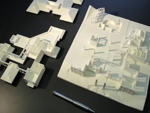 Maquetes são divididas, normalmente, em três parte (Foto: Eduardo Rodrigues/Arquivo Pessoal)