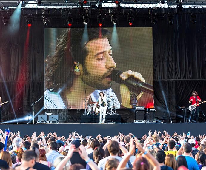 Magic! se apresentou no último dia do Rock in Rio Las Vegas e também estará no Rio (Foto: Divulgação)