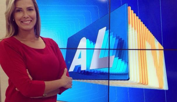 Thaíse Cavalcante assume bancada do ALTV 1ª Edição (Foto: Divulgação/ Arquivo pessoal)