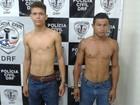 Dois jovens são presos suspeitos de roubo a coletivos em São Luís