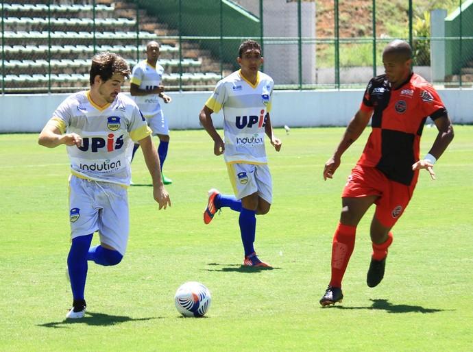 Atlético Taguatinga superou o Paranoá e venceu a primeira no campeonato (Foto: Milo Rezende / Paranoá)