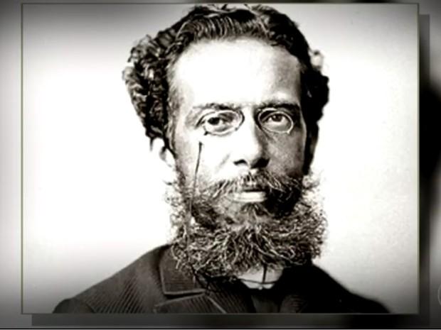 Escritor Machado de Assis foi o primeiro presidente da Academia Brasileira de Letras (Foto: Reprodução/TV TEM)