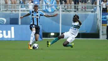 Veja os melhores momentos  de Grêmio 1x0 Coritiba na Arena (Lucas Uebel/Divulgação Grêmio)