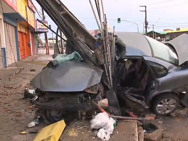 Acidente aconteceu na Avenida Jerônimo de Albuquerque em São Luís
