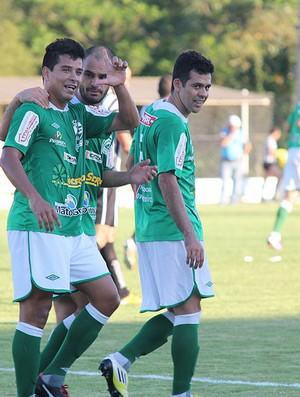 Luverdense vence o Treze-PB por 4 a 0 (Foto: Assessoria/Luverdense Esporte Clube)