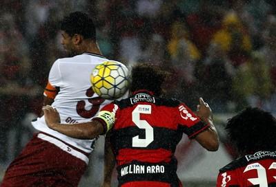 Gum Arão Fla-Flu (Foto: Nelson Perez/Fluminense F.C.)