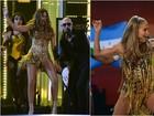 Sofia Vergara exibe curvas perfeitas no Grammy e é comparada a JLO