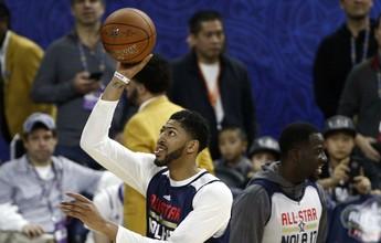"""Em casa e no melhor ano, Davis tem All-Star especial: """"Vou tentar ser MVP"""""""