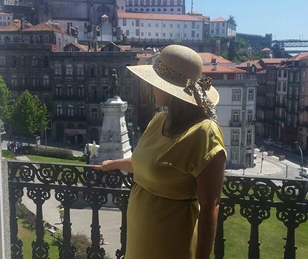 Nina Barbosa em Portugal (Foto: Arquivo Pessoal)