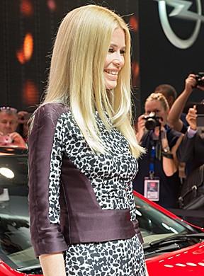 Claudia Schiffer será estrela de anúncios do Corsa (Foto: Divulgação/GM)