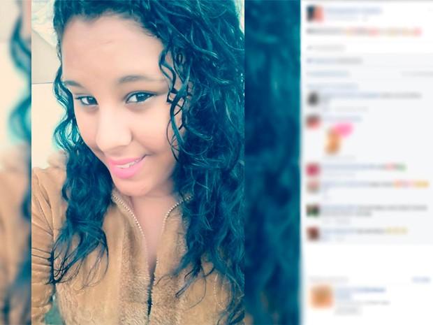 Adolescente morta col golpe de faca por conta de R$ 15, em Salvador (Foto: Reprodução/ Facebook)
