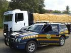 PRF prende homem suspeito de transporte ilegal de carga em MG