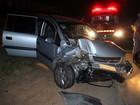 Casal de idosos fica ferido após acidente na SP-215 em São Carlos