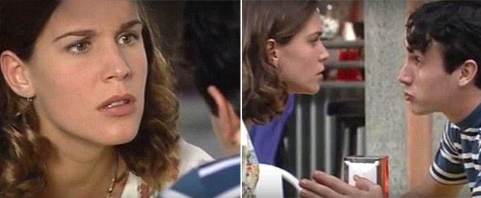 Vanessa Lóes interpretava a jovem Janete em Engraçadinha (Foto: Reprodução)