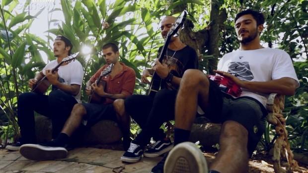A banda carioca Forfun (Foto: Foto: GShow)