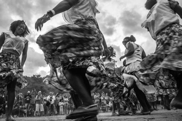 Comunidade Kalunga também participa do Encontro de Culturas em Alto Paraíso de Goiás (Foto: Divulgação/Anne Vilela)