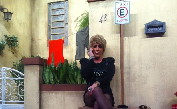 Senhora dos Absurdos visita a Penso da J (Foto: Divulgao)