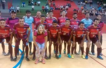 Caroline Bezerra, da equipe de Riacho, é a única mulher na 11ª Copa TVAB