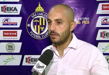 Rafael Guanaes técnico do Sanca (Foto: Reprodução EPTV)