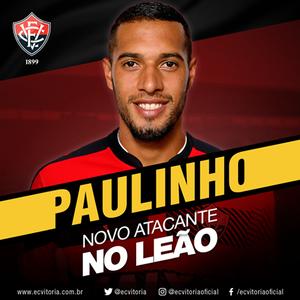 Paulinho; Vitória (Foto: Reprodução)