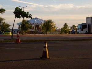 Réveillon na orla de Ponta Verde será no estacionamento do Alagoinhas (Foto: Jonathan Lins/G1)