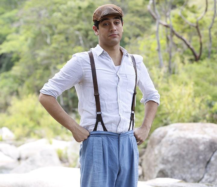 Miguel Rômulo vai interpretar Quincas (Foto: Ellen Soares/Gshow)