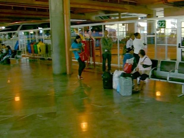 Terminal Rodoviário de Campinas (Foto: Reprodução / EPTV)