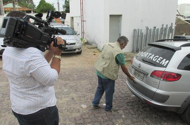 Bastidores TV Clube (Foto: Katylenin França/TV Clube)