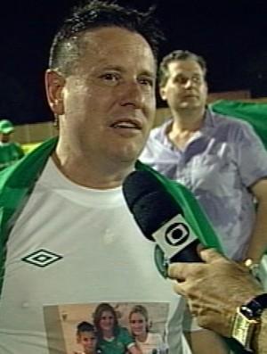 Presidente da Chapecoense, Sandro Pallaoro (Foto: Reprodução)