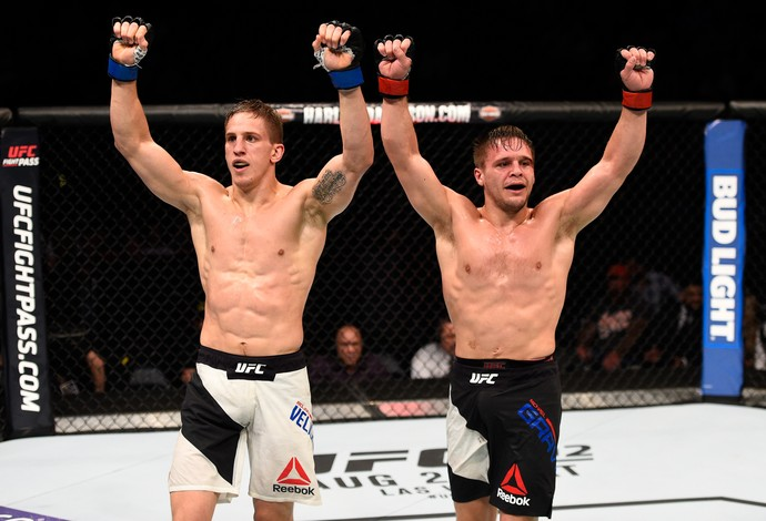 Bojan Velickovic Michael Graves UFC 201 (Foto: Getty Images)