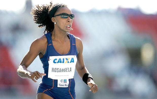 Rosangela Santos GP Brasil de Atletismo, Rio de Janeiro chorando (Foto: Wagner Carmo / Cbat)