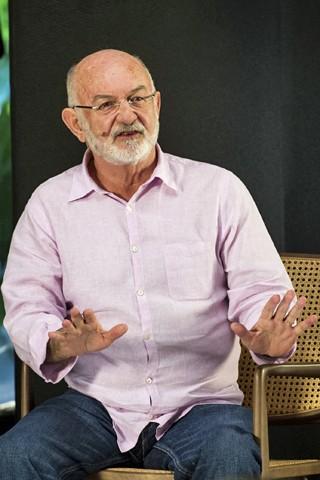 O diretor de Dramaturgia diária, Silvio de Abreu (Foto: João Cotta/Globo)