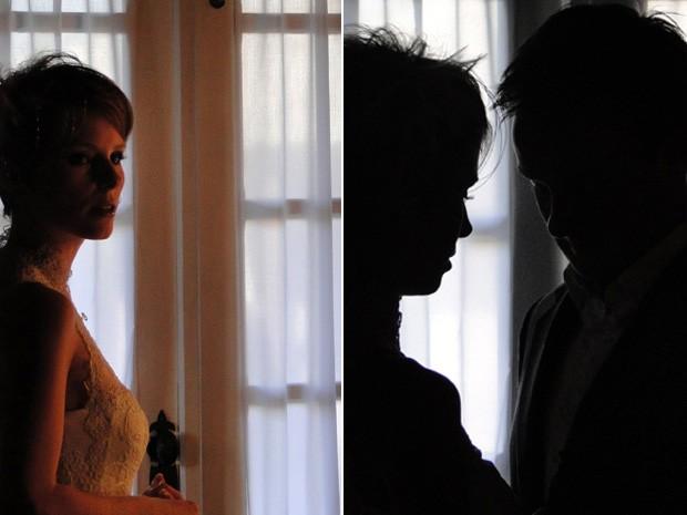 """Mesmo depois de tantos """"sins"""", casal não é oficialmente casado. Para Lisa, porém, casamento começou quando decidiu assumir um compromisso com Alex. (Foto: Raquel Freitas/G1)"""
