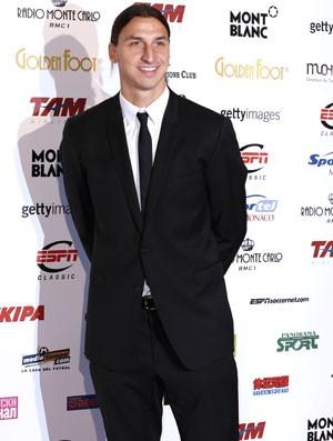 Ibrahimovic, Golden Foot (Foto: Agência AFP)